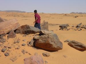 Nubian desert nature call