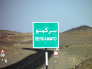Arrival in Sarkamatto